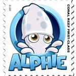 Alphie stamp